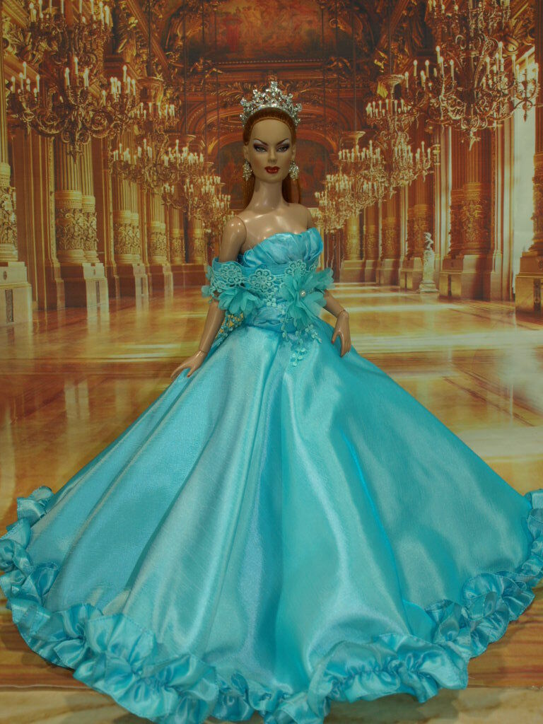 OOAK  PRINCESS STYLE  FOR TONER 22 INCH AMERICAN MODEL DOLL 29 4 2