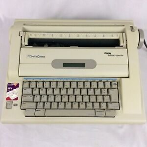 Smith Corona LCD Display Portable Word Spell Right Dictionary Typewriter NA3HH