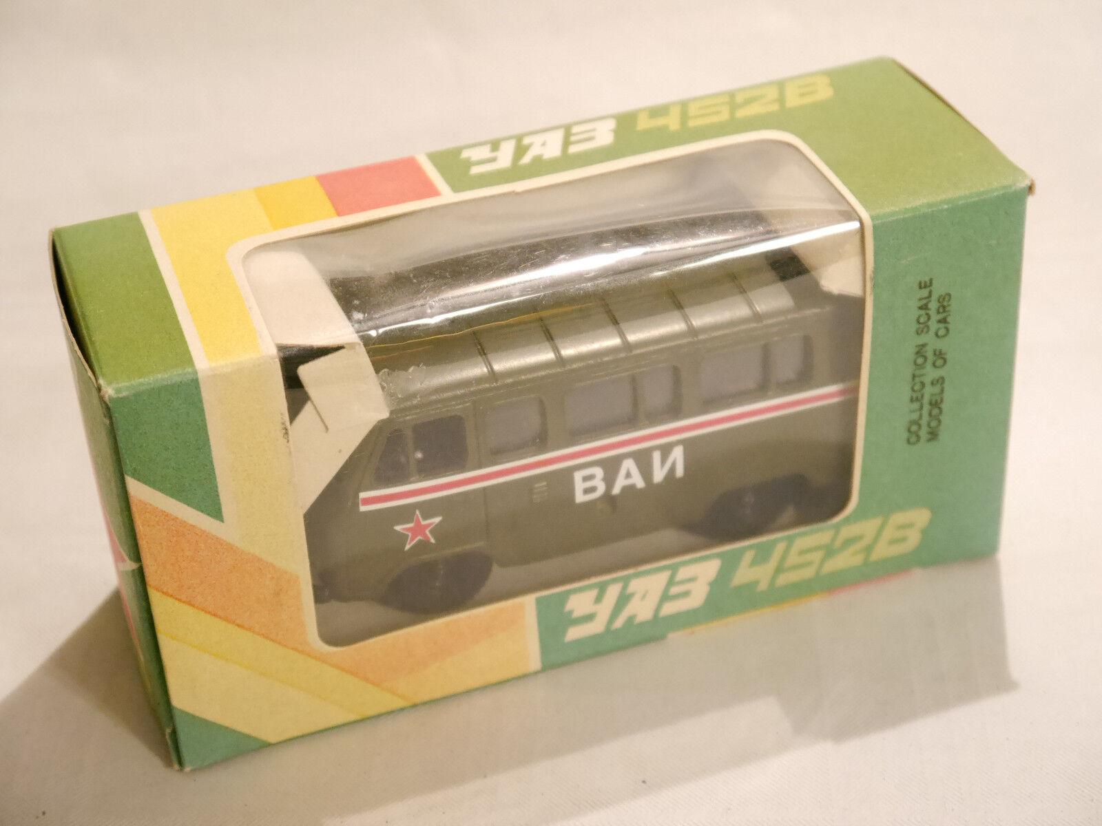 Uaz 452 b militärpolizei verbot   vai radon novoexport udssr cccp 1 43 geboxt.