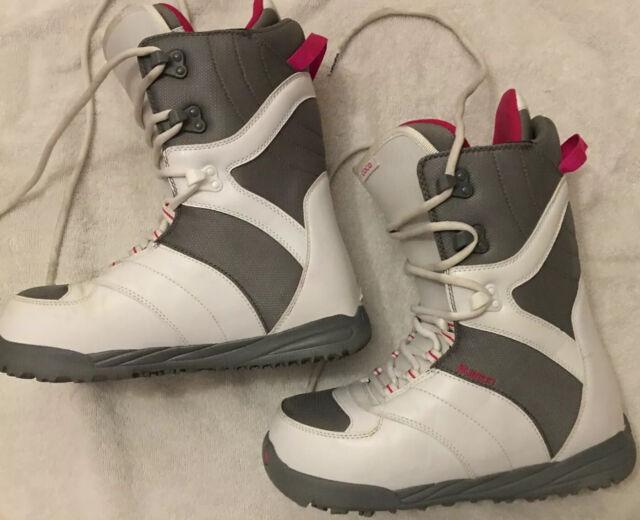 6 Black-Mint Burton Womens Mint Snowboard Boots 2015