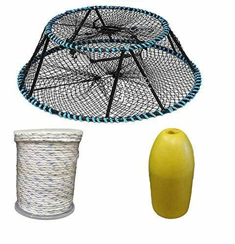 KUFA Sports  Vinyl Coated Prawn Trap with Prawn Trap Accessories (CT130+FYM400  convenient