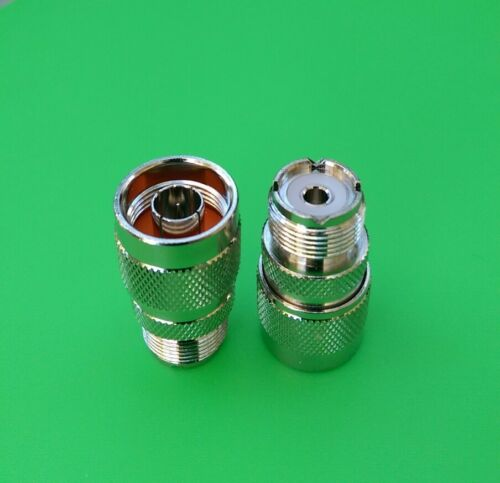 USA Seller 5 PCS N Male to UHF Female Connector