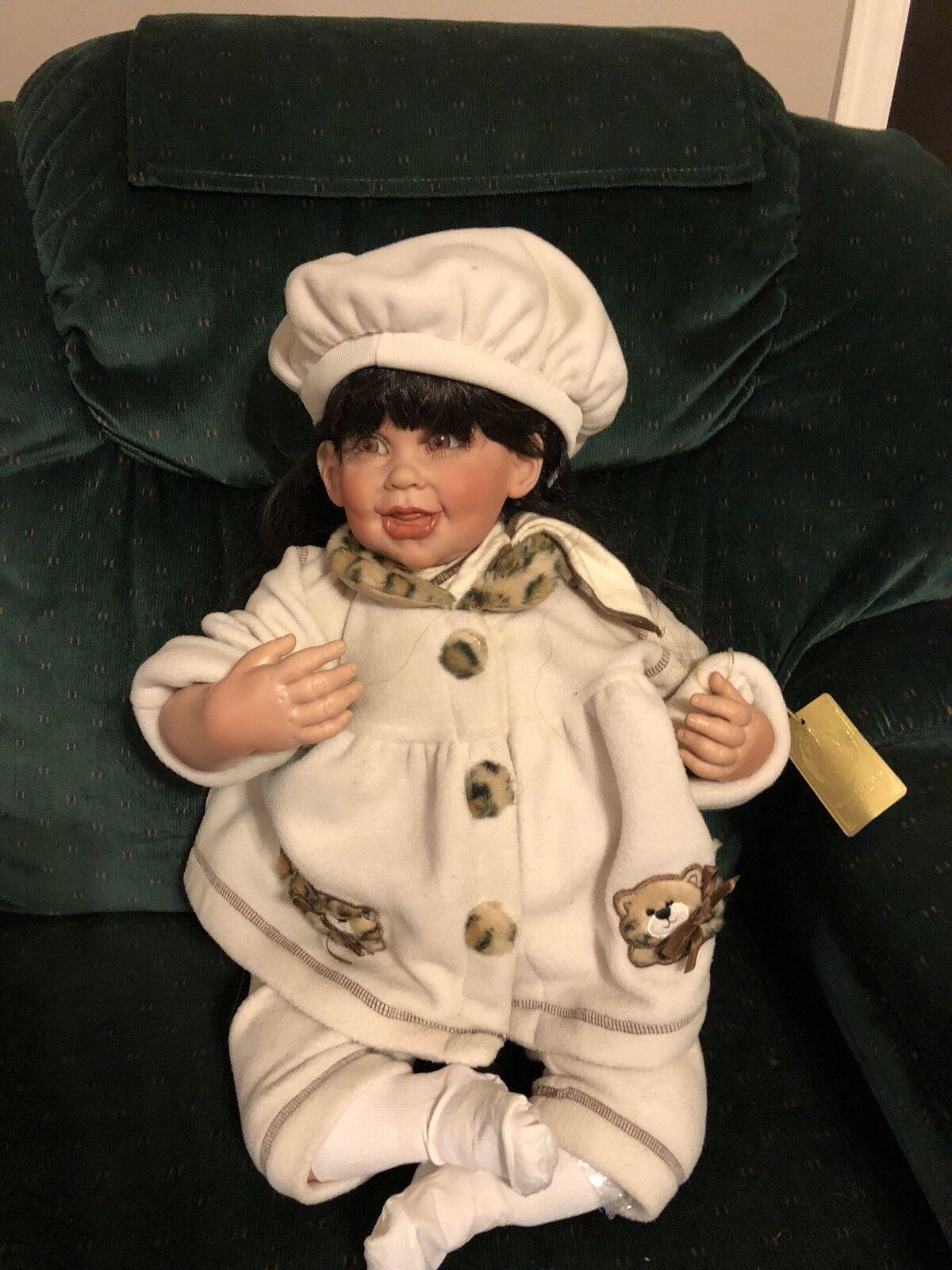 Precious Heirloom Fayzah Doll 25 Inches Bundled Up Up Bundled 0f2689