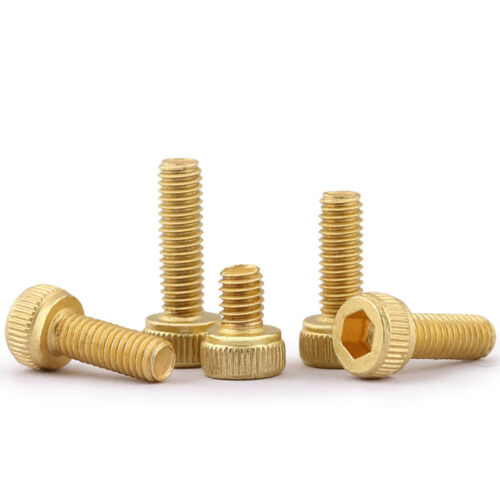 Solid Brass Allen Hex Socket Cap Head Screw Bolt M2 M2.5 M3 *4*5//6//8//10//12-30