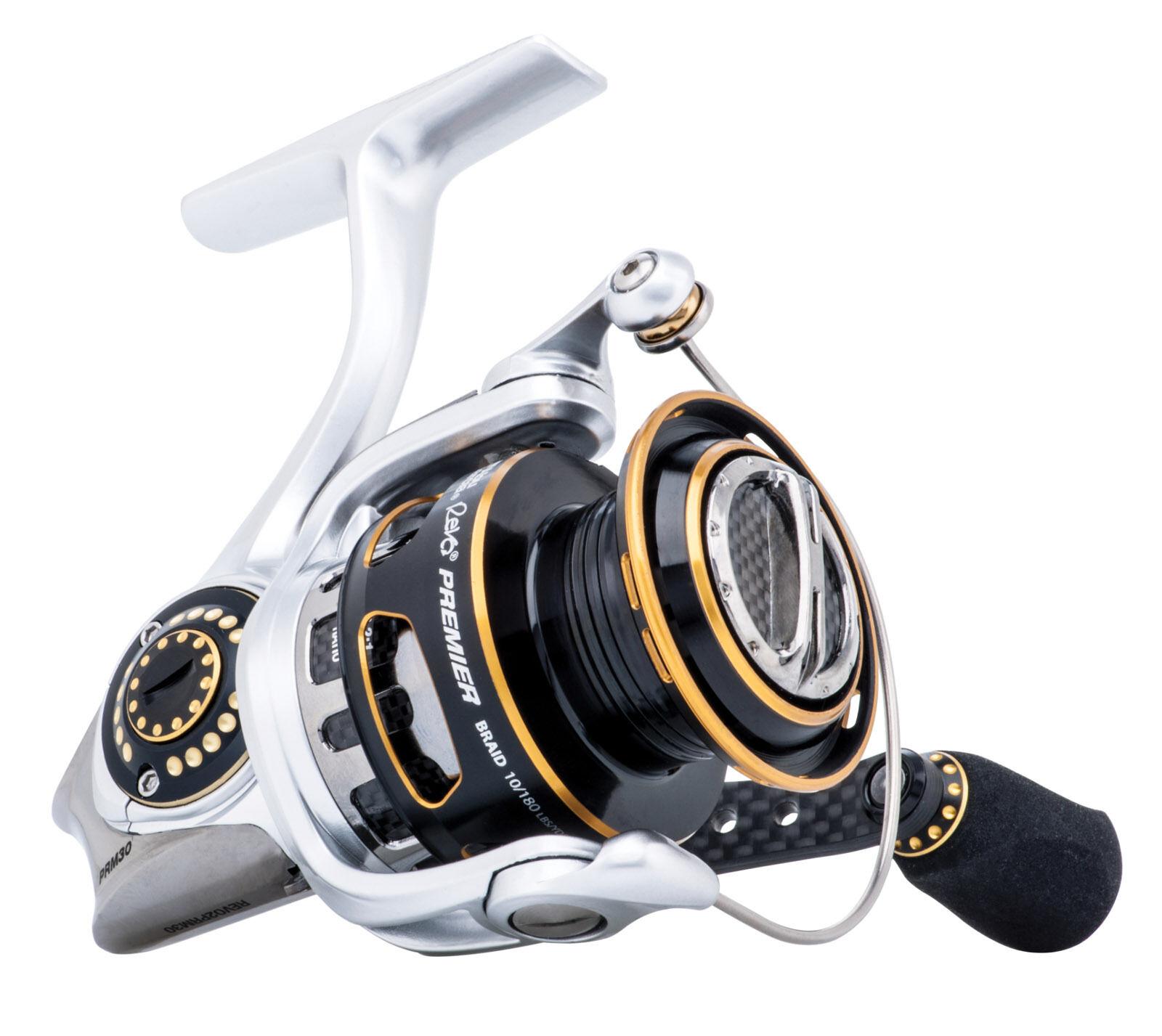 ABU Garcia Revo 2 Premier 10 – 40 GIRI serie Baitcast ANTERIORE trascinare pesca con mulinello