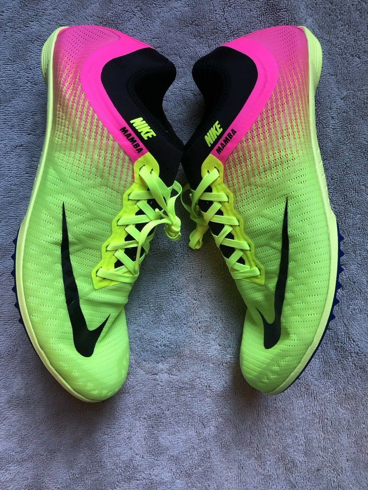 Nike Zoom Mamba 3 Track Field Distance Spikes Size  12 (882015-999)