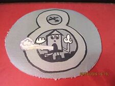 WWII USAAF DISNEY AIR RAID SIREN 8 TH AIR WARNING SQ NYC  FLIGHT JACKET  PATCH