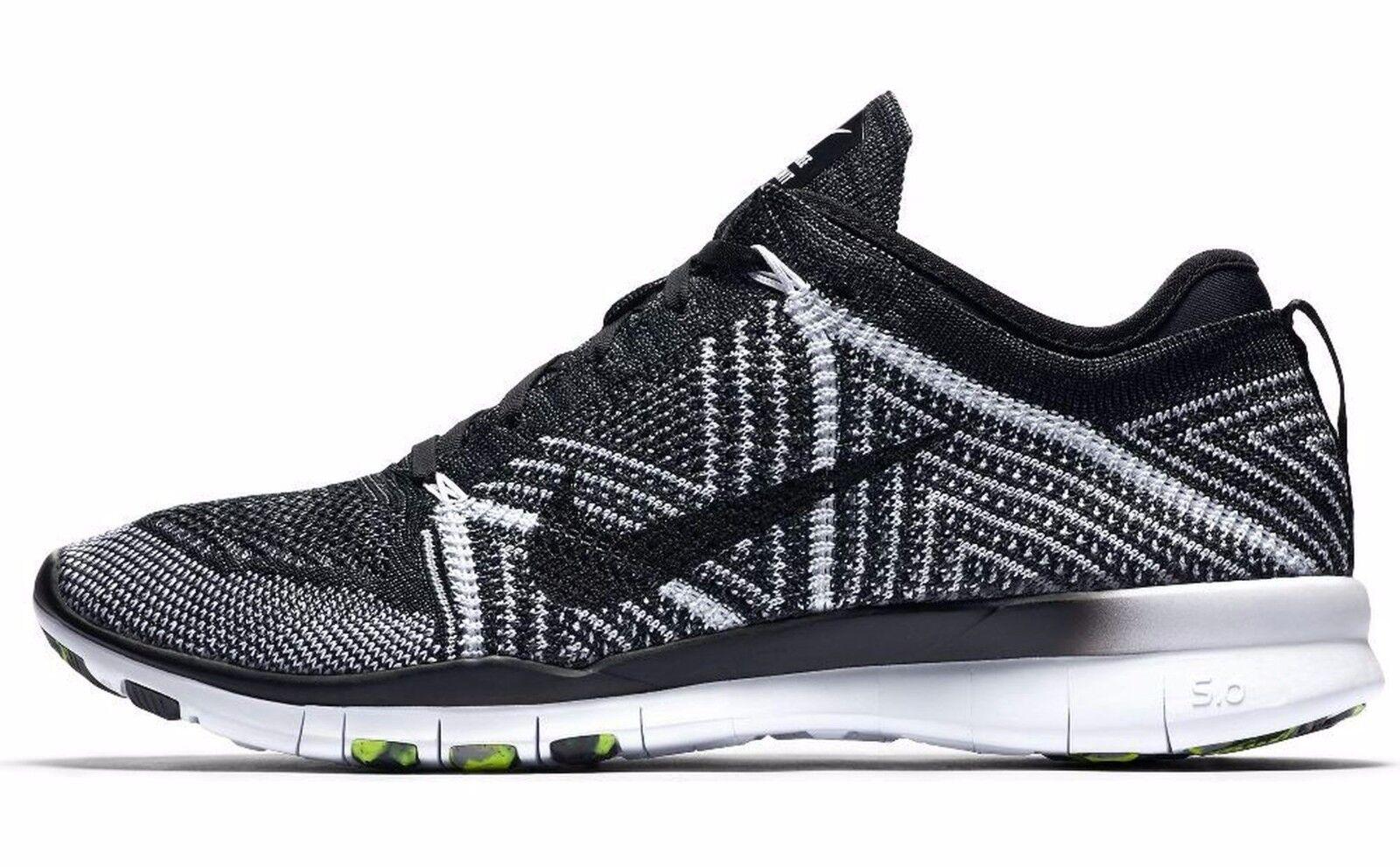 Nike WMNS Free TR F785-004 Black White Volt ,,Oreo