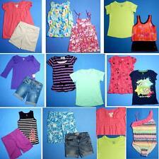 NICE Lot 17pc girls Spring Summer clothing Sz 10 Tops Shorts FAST SHIP~S127