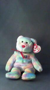 WIRABEAR Ty Beanie Baby Malaysia Bear