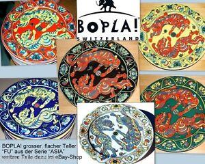 FU-BOPLA-Porzellan-27cm-grosser-Speiseteller-Essteller-Fleischteller-Asia-Serie