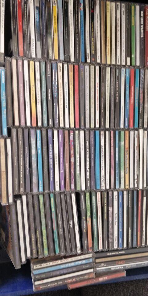 Mange forskellige: Cd'er i massevis, rock