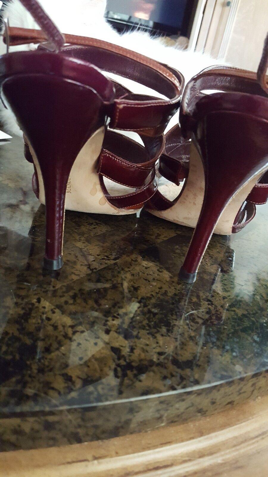 Manolo Blahnik Strappy Sandals Sandals Sandals 38.5 8.5 b9a0ad