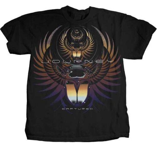 Journey Gefangenen T-Shirt S-M-L-XL-2XL Neu Offiziell Hi Fidelity Waren