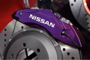4-Pegatinas-sticker-brake-aufkleber-pinzas-de-freno-Nissan-9-cm