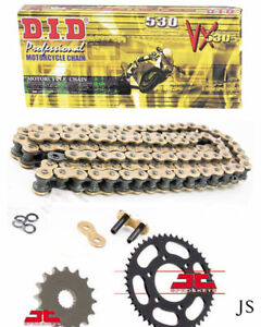 Yamaha YZF-R1 1998 DID XRing Gold Chain and Sprocket Kit Set YZF R1