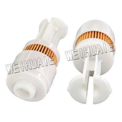 2x Gas Fuel Filter Element Cartridge For Yamaha Outboard 65L-24563-00-00
