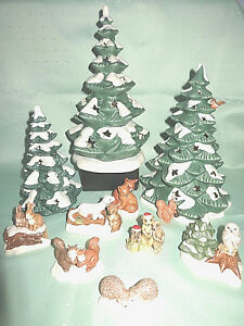 Elektrischer Tannenbaum.Details About Goebel Animal Winter Animal Tannenbaum Christmas Tree Owl Meerkats Fox Hedgehog Hare Show Original Title