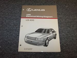 1995 Lexus LS400 Sedan Factory Original Electrical Wiring ...