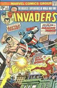 Invaders-1975-series-3-in-Very-Fine-condition-Marvel-comics-8y