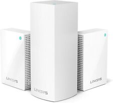 Linksys Velop AC4800 Tri-Band Whole Home Mesh Wi-Fi System with Plug-Ins, 3-Pack