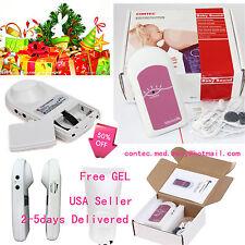 CONTEC Pocket fetal doppler,Prenatal Baby Heart Beat Monitor +Gel,Baby Sound A