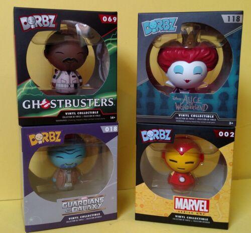 Vinyl Sugar Dorbz Disney Figures Ironman Ghostbusers Guardians Galaxy Iracebeth