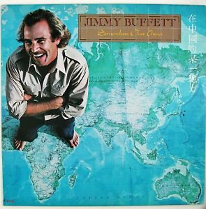 JIMMY BUFFETT Somewhere Over China LP 1981 COUNTRY ROCK NM- NM-