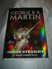Inside Straight A Wild Card Novel George R R Martin SIGNED x7 2008 1st/1st HCDJ