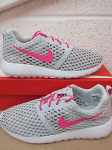 217cb6b71eece nike roshe one flight weight (GS) trainers 705486 006 sneakers shoes ...