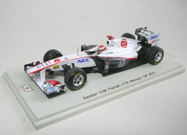 en linea Sauber C30 Ferrari N° 16 K. Kobayashi Monaco Gp 2011 2011 2011  el mas reciente