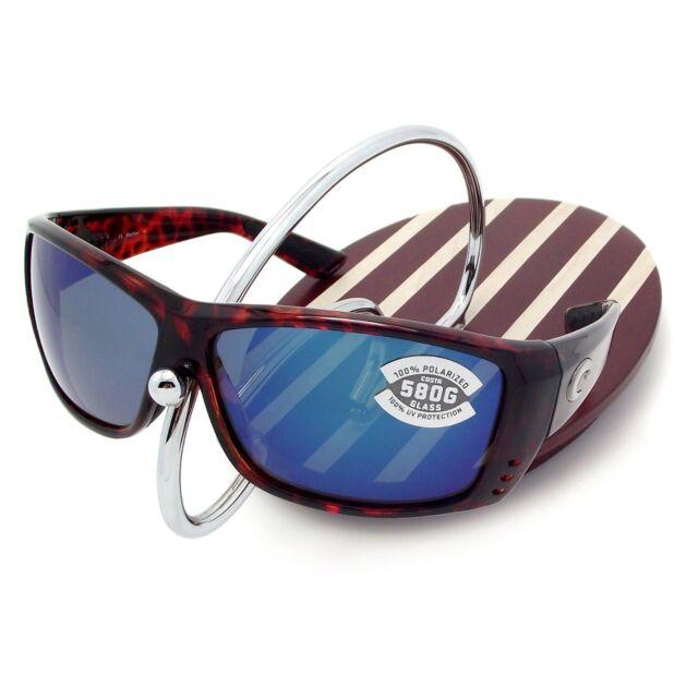 fd4687b8edf NEW Costa Del Mar CAT CAY Tortoise   580 Blue Mirror Glass 580G