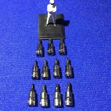 "Blue Point 1/4""dr 11pc Phillips Pozi & FLAT Bit Socket Set sold by Snap On NEW"