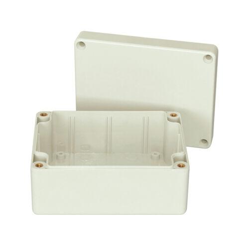 Elektronik Modulgehäuse Kunststoffgehäuse Box IP 65 aus ABS 115x90x55mm