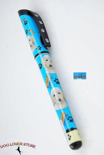 Goldendoodle Dog Pen Replaceable Ballpoint Black Ink
