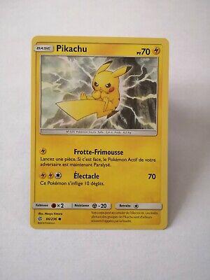Pikachu 66//236 SL12:Éclipse Cosmique Carte Pokemon Neuve Française