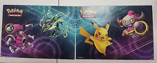 Rayquaza / Pikachu / Hoopa - Sticker Sheet 2015 XY Collectors Chest Tin Pokemon