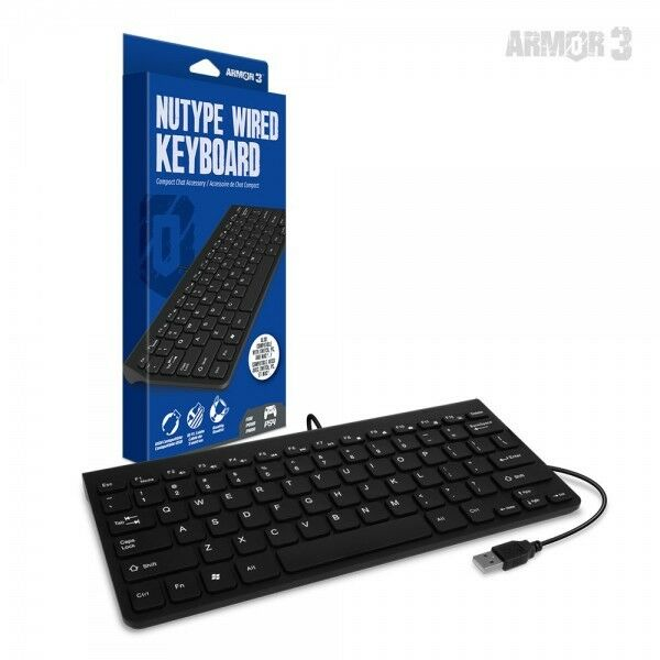 """""""NuType"""" Wired Keyboard for PS4 - Armor3 NEW"""