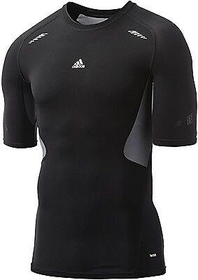T-shirt Techfit Prepare Adidas Medium Compression Allenamento Palestra Running Risparmia Il 50-70%