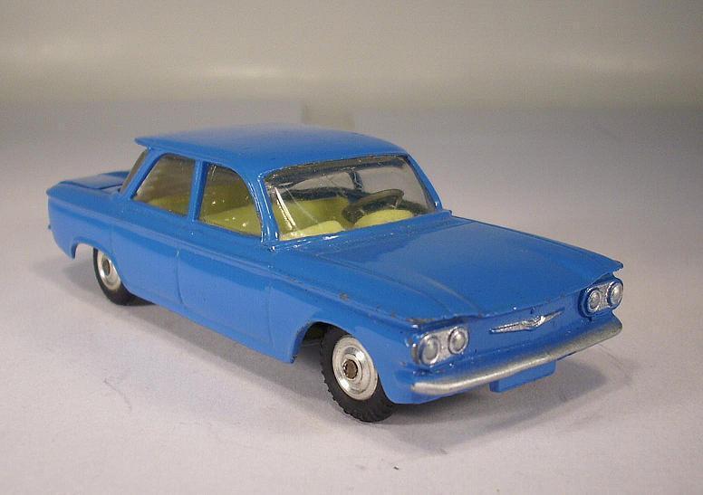 CORGI giocattoli 229 Chevrolet Corvair BLU  014