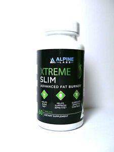 Alpine Xtreme Slim Advanced Fat Burner 60 Count,Exp.05