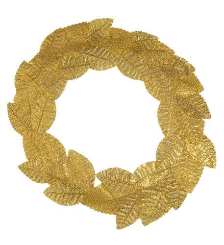 Greco PS 01955 Accessorio Costume Carnevale Romano Corona d/'Alloro Oro