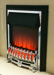 Ezee-Glow-Clarke-Chrome-Effect-Inset-Electric-Fire