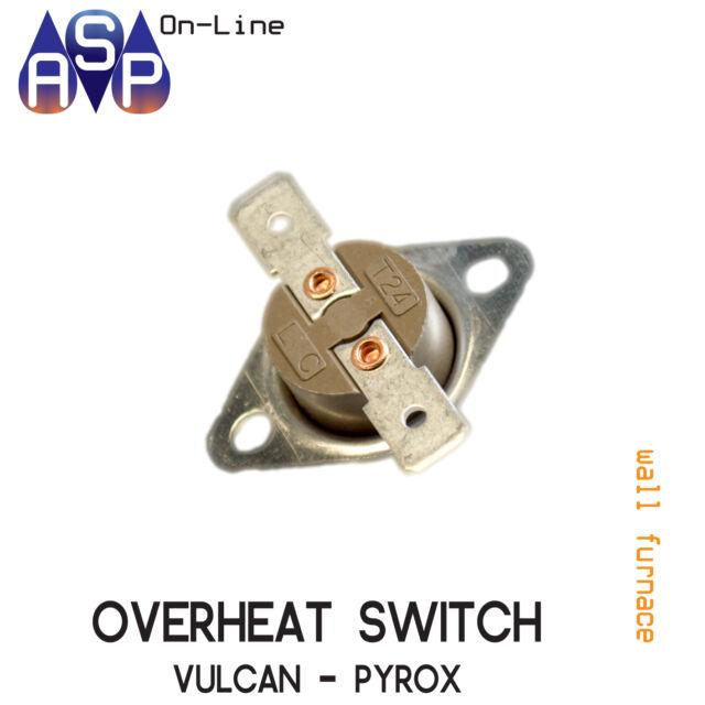 Cutout Overheat Switch For Vulcan Pyrox Wall Furnace Part 2055821sp Ebay
