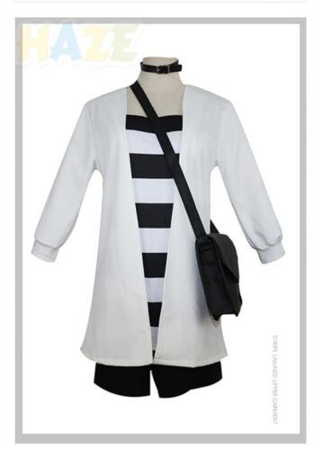 Angels of Death Ray Rachel Gardner Cosplay Costume Uniform Outfit Bag+Choker