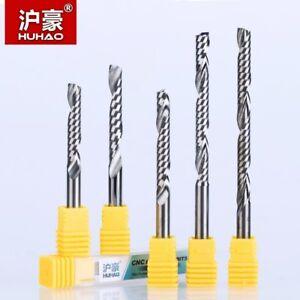 KLOT Solid Carbide End Mill 5.5mm-20mm 2-Flute Cutter Router Bits CNC HRC50