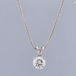 1-02-Carat-G-VS1-18ct-White-Gold-Diamond-Pendant-Necklace