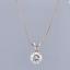 1-02-Carat-G-VS1-18ct-White-Gold-Diamond-Pendant-Necklace thumbnail 1