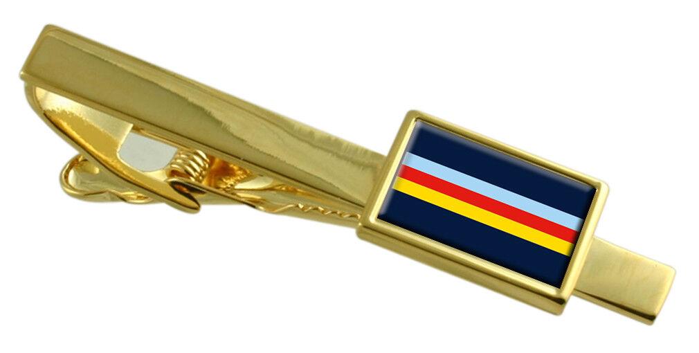 Militare Militare Militare Corps Of Musica Trf Colore oro Fermacravatta Inciso 191d9d