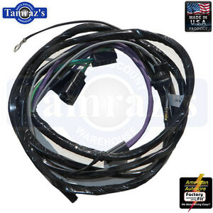 image is loading 1965-1966-chevy-ii-nova-console-wiring-harness-